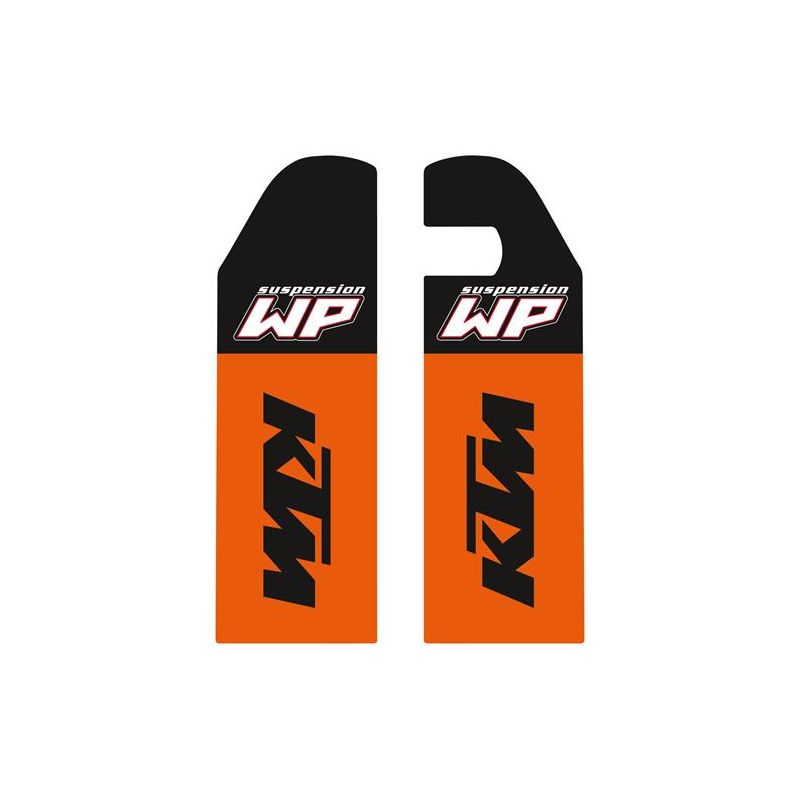 Jeu d'autocollants de protection de fourche pour KTM SX/EXC (2006-07)