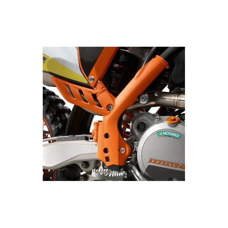 Jeu de protection de cadre Orange pour KTM SX (11-15) et EXC (12-16)