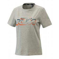 T-SHIRT FEMME KTM GRIS...