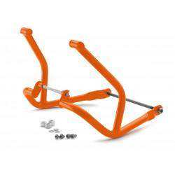 Barres de protection orange...